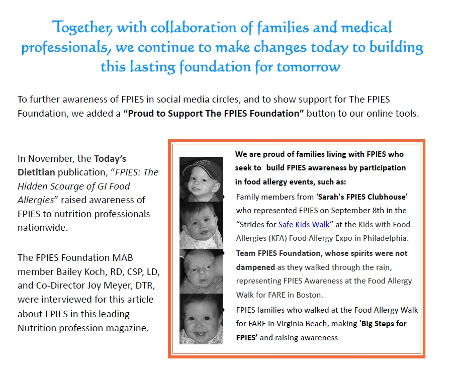 The FPIES Foundation