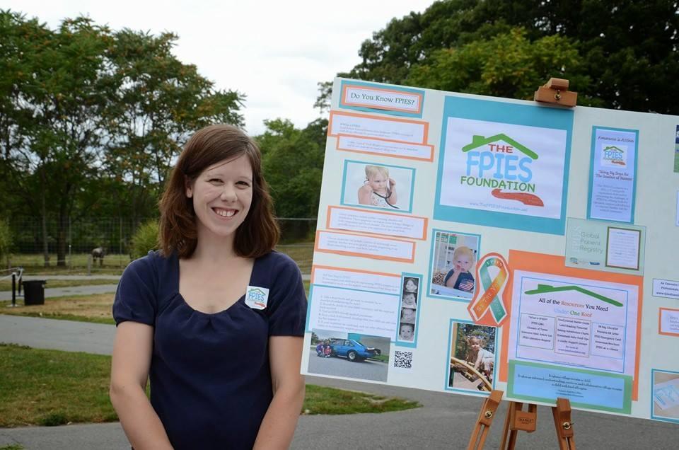 Boston Zoo Day 2014 Amanda at Booth Victoria Pic