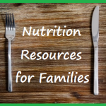 nutrition resources for families button square