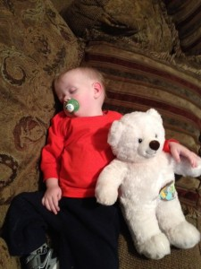 Ryker with TubieFriend