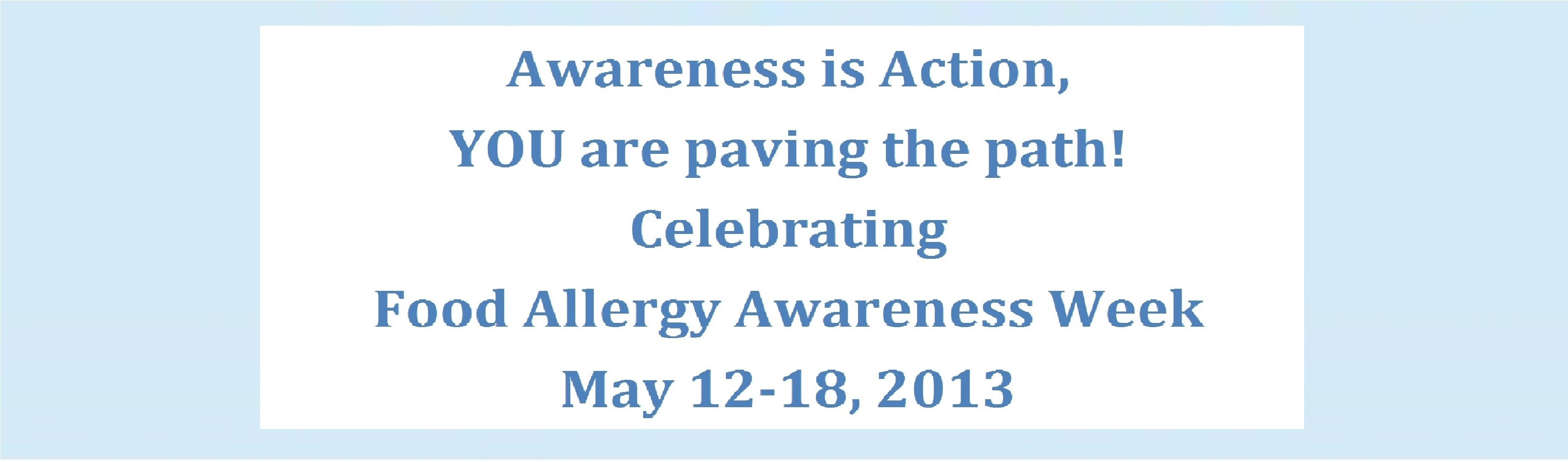 awareness is action banner