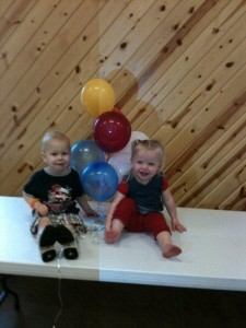 fundraiser two adoreable kiddos