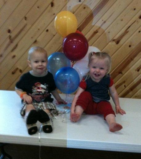 fundraiser two adoreable kiddos