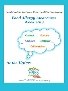 Food Allergy Awareness Week 2014 profile poster