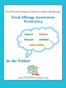 Food Allergy Awareness Week 2014 profile poster