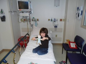 stanley in the endoscopy unit