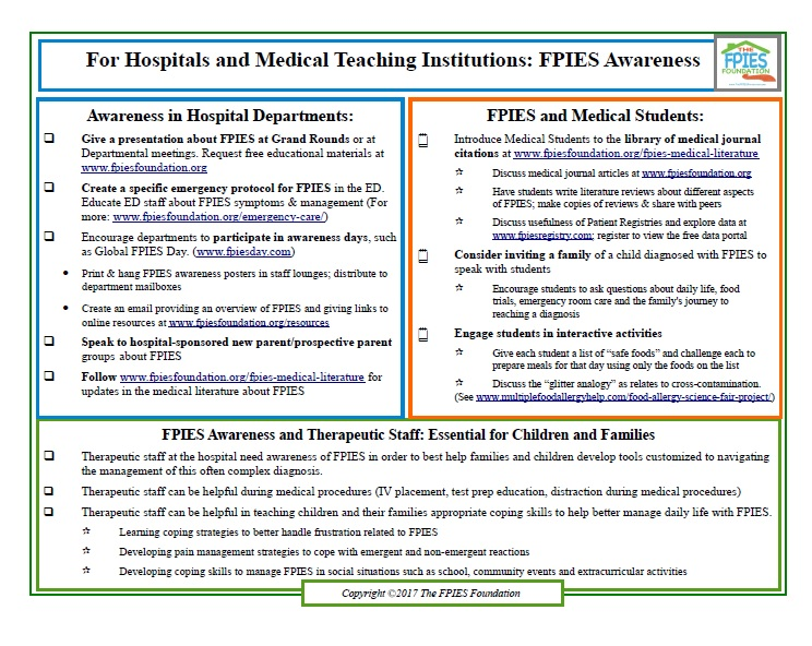 Worksheets JPEG Raising FPIES Awareness in Hospitals