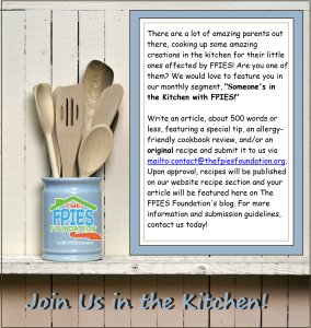 Join us in the kitchen infographic