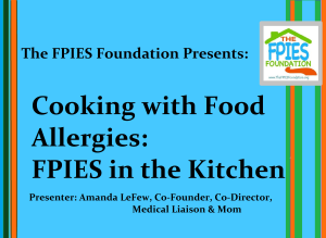 fpies in the kitchen title