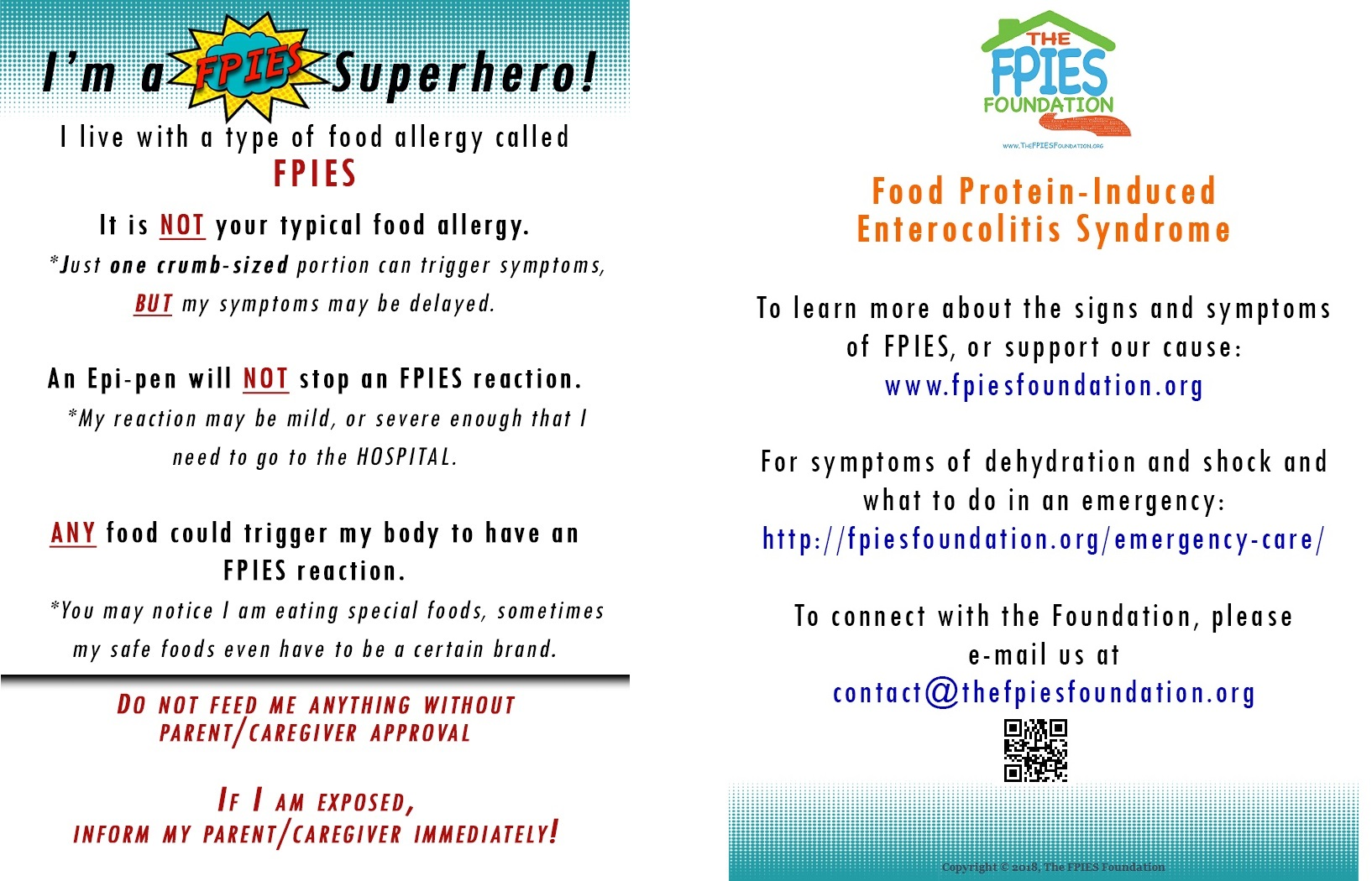 School Support For Kids The Fpies Foundation